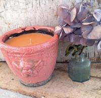 Angel Ceramic Pot-Tahitian Vanilla-Pink