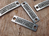 Best Friends Bracelet Band Charm