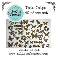 Thin Chips-Beautiful Set-40 pcs