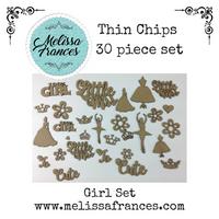 Thin Chips-Girl Set-30 Pcs