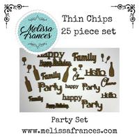Thin Chips-Party Set-25 pcs