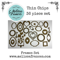 Thin Chips-Frame Set-36 pcs