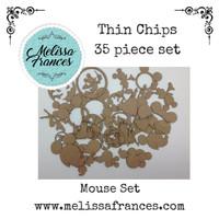 Thin Chips-Mouse Set-35 pcs