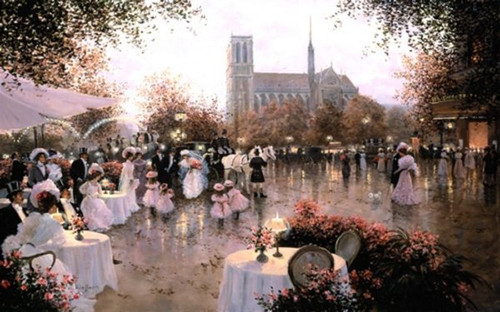 A Wedding Party Notre Dame Paris By Christa Kieffer