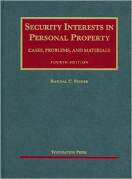 PICKER'S SECURITY INTERESTS IN PERSONAL PROPERTY (4TH, 2009)  9781599416397