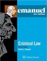 EMANUEL LAW OUTLINES: CRIMINAL LAW (2015) 9781454840909