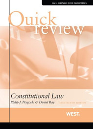 QUICK REVIEW OF CONSTITUTIONAL LAW, 18TH