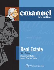 EMANUEL LAW OUTLINES: REAL ESTATE (3RD, 2014) 9781454832799