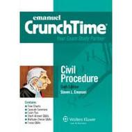 CRUNCHTIME: CIVIL PROCEDURE (6TH, 2015) 9781454840923
