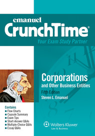 CRUNCHTIME: CORPORATIONS (5TH, 2013) 9781454824879