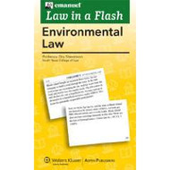 LAW IN A FLASH CARDS: ENVIRONMENTAL LAW (2010) 9780735579781