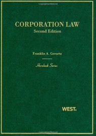 GEVURTZ'S CORPORATION LAW (2ND, 2010) (HORNBOOK SERIES) 9780314159793