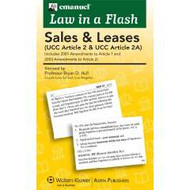 LAW IN A FLASH CARDS: SALES, UCC ARTICLE 2