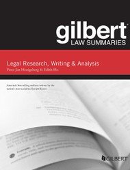 GILBERT LAW SUMMARIES ON LEGAL RESEARCH, WRITING, AND ANALYSIS (12TH, 2014) 9780314290977
