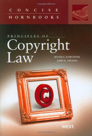 PRINCIPLES OF COPYRIGHT LAW (CONCISE HORNBOOK SERIES) (2004) 9780314147509