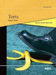 BLACK LETTER OUTLINE ON TORTS (5TH, 2013) 9780314275523