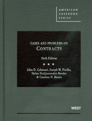 CALAMARI'S CASES AND PROBLEMS ON CONTRACTS (6TH, 2011) 9780314202857