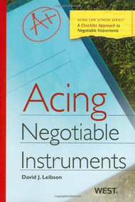 LEIBSON'S ACING NEGOTIABLE INSTRUMENTS (2010)