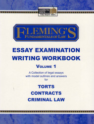 FLEMING'S ESSAY EXAMINATION WRITING WORKBOOK VOL. 1 (2006) 9781932440584