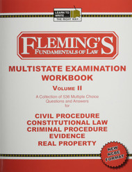FLEMING'S MULTISTATE WORKBOOK VOL. 2 (2013) 9781932440577