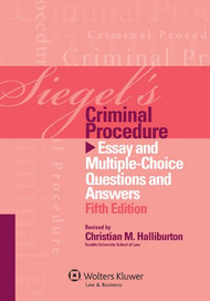 SIEGEL'S: CRIMINAL PROCEDURE (2012)