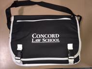 CONCORD LAW SCHOOL MESSENGER BAG
