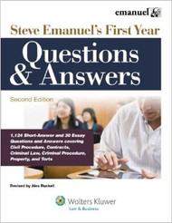 EMANUEL'S FIRST YEAR QUESTIONS AND ANSWERS (2011) 9781454805250
