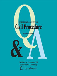 DORSANEO'S Q&A ON CIVIL PROCEDURE (4TH, 2015) 9781632828583