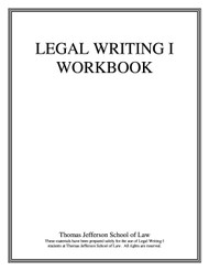 LEGAL WRITING 1 WORKBOOK (INCLUDES E-BOOK ACCESS)