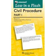 LAW IN A FLASH CARDS: CIVIL PROCEDURE I (2015)