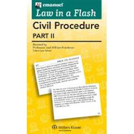 LAW IN A FLASH CARDS: CIVIL PROCEDURE II (2015)