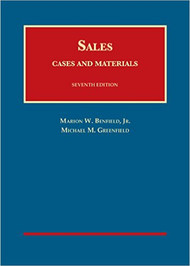 BENFIELD'S CASES AND MATERIALS ON SALES (7TH, 2015) 9781628103526