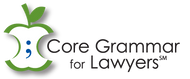 CORE GRAMMAR FOR LAWYERS (ACCESS CODE) 9781611635843