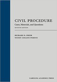 FREER'S CIVIL PROCEDURE (7TH, 2016) 9781611639117