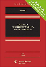 MASSEY'S AMERICAN CONSTITUTIONAL LAW (5TH, 2016) 9781454868330