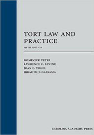 VETRI'S TORT LAW AND PRACTICE (5TH, 2016) 9781632849380