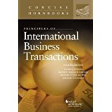 FOLSOM'S PRINCIPLES OF INTERNATIONAL BUSINESS TRANSACTION (4TH ED) (CONCISE HORNBOOK SERIES)