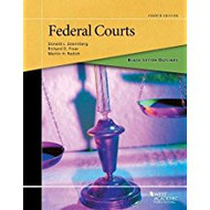 BLACK LETTER OUTLINE ON FEDERAL COURTS  (4TH 2017)