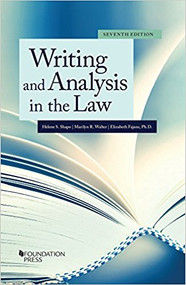 SHAPO'S WRITING AND ANALYSIS IN THE LAW (7TH, 2018) 9781683282372