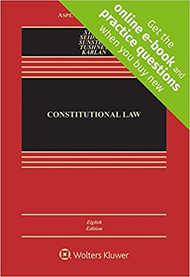 STONE'S CONSTITUTIONAL LAW (8TH, 2018) 9781454876670