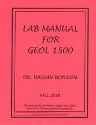 BOROON'S GEOLOGY 1500 (FALL 2018)