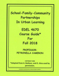 CAMERON'S EDEL 4670 (FALL 2018)