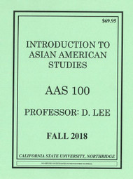 LEE'S AAS 100 (FALL 2018)