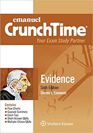 CRUNCHTIME: EVIDENCE (6TH, 2018) 9781454891062