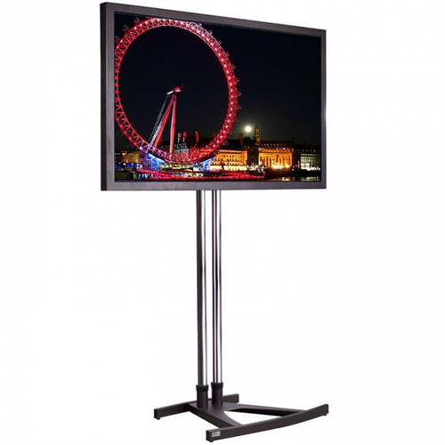 "55"" 4K LED Super Slim Exhibition TV Screen Hire  with stand"