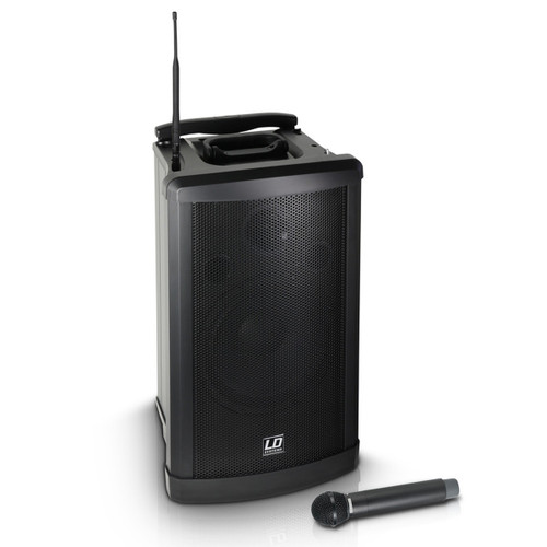 Hire PA System with Handheld Microphone