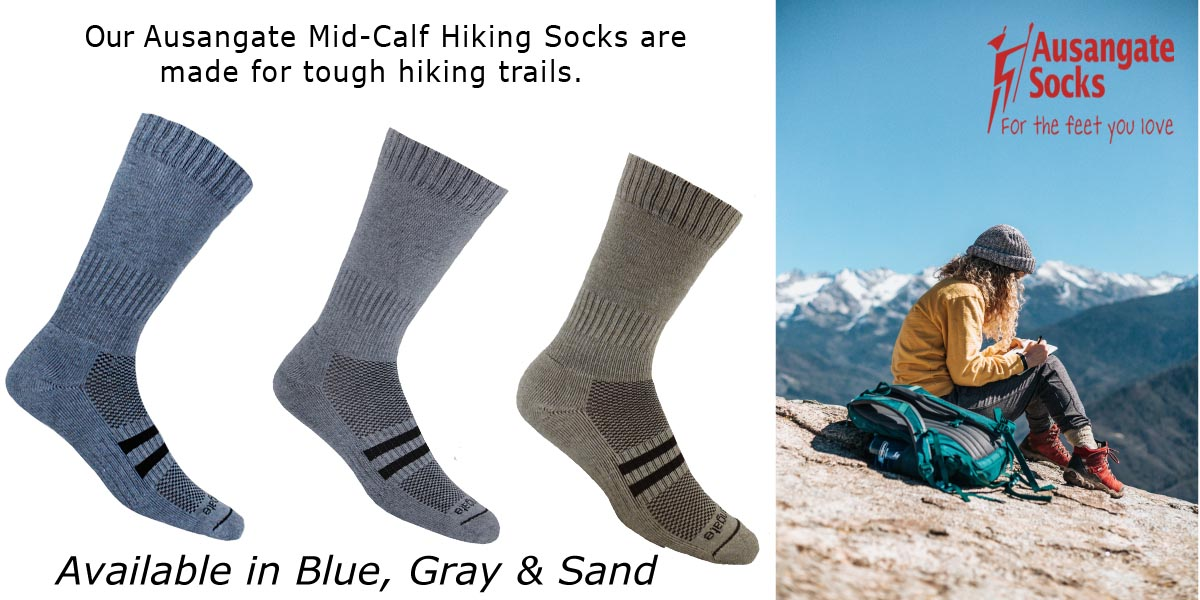 Ausangate alpaca hiking socks.