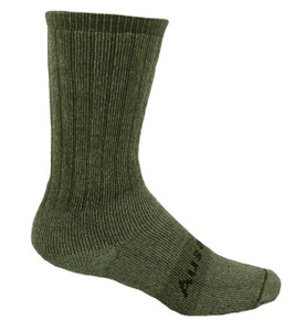 Our Medium Weight Hiking Socks are now available in Hunter Green and are available in Small, Medium, Large &  X-Large.