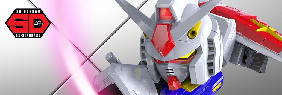 SD Gundam EX-Standard Gunpla Model Kits
