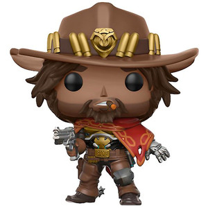 McCree: Funko POP! Games x Overwatch Vinyl Figure